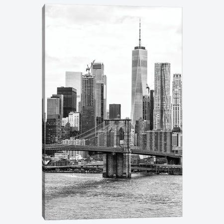 New York Skyscrapers Canvas Print #PHD1216} by Philippe Hugonnard Art Print