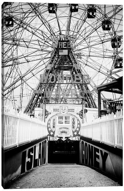 Coney Island This Way Canvas Art Print