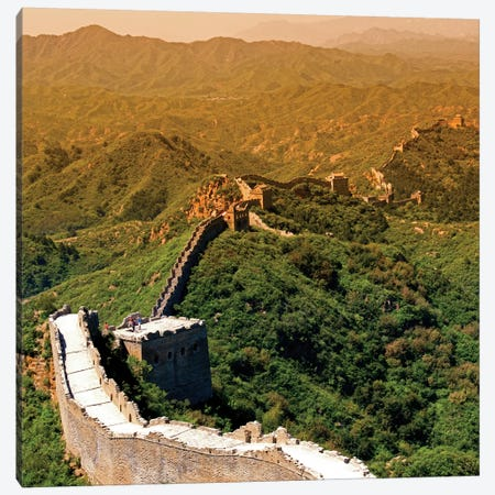 Great Wall of China VII Canvas Print #PHD122} by Philippe Hugonnard Canvas Print