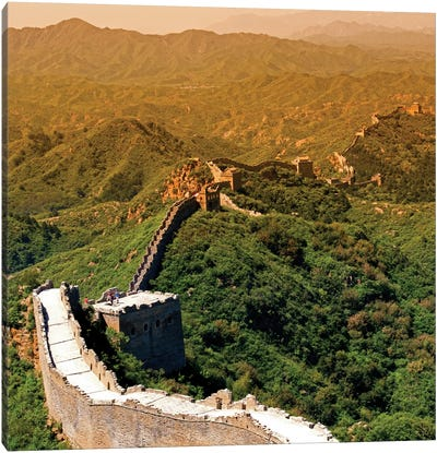 Great Wall of China VII Canvas Art Print