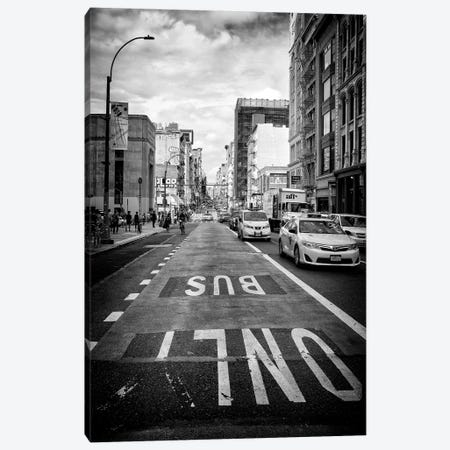 Bus Only Canvas Print #PHD1231} by Philippe Hugonnard Canvas Artwork