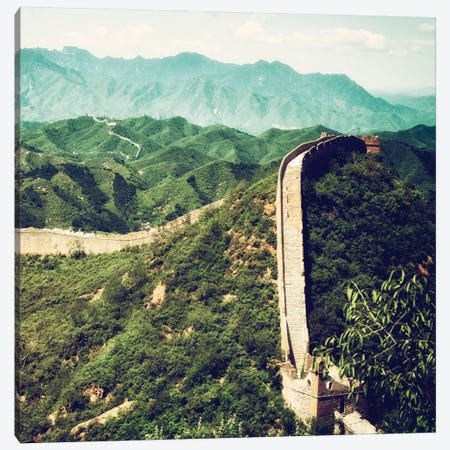 Great Wall of China VIII Canvas Print #PHD123} by Philippe Hugonnard Canvas Art Print