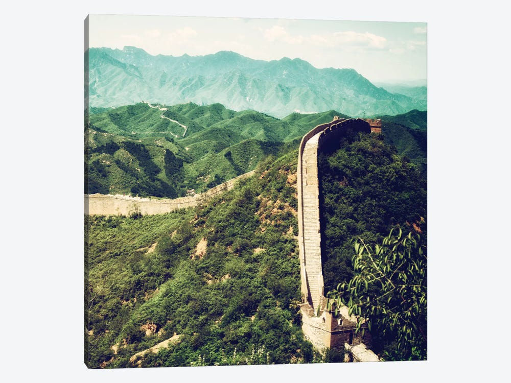 Great Wall of China VIII 1-piece Canvas Artwork