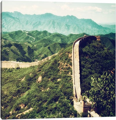 Great Wall of China VIII Canvas Art Print