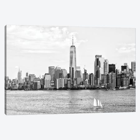 Skyscrapers Skyline Canvas Print #PHD1243} by Philippe Hugonnard Canvas Art Print