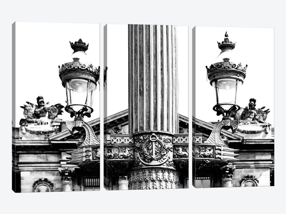 Paris Architecture I by Philippe Hugonnard 3-piece Canvas Art Print