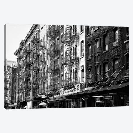 NYC Chinatown Buildings Canvas Print #PHD1256} by Philippe Hugonnard Canvas Print