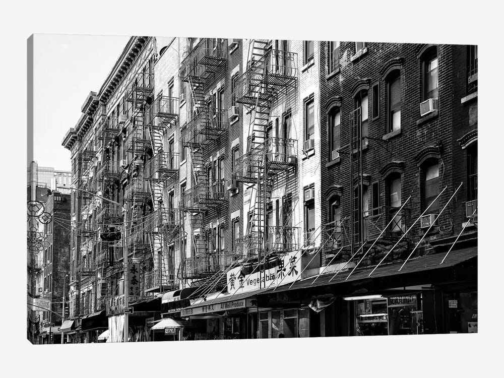 NYC Chinatown Buildings by Philippe Hugonnard 1-piece Canvas Art