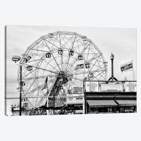 Luna Park Wonder Wheel Canvas Print #PHD1261} by Philippe Hugonnard Art Print