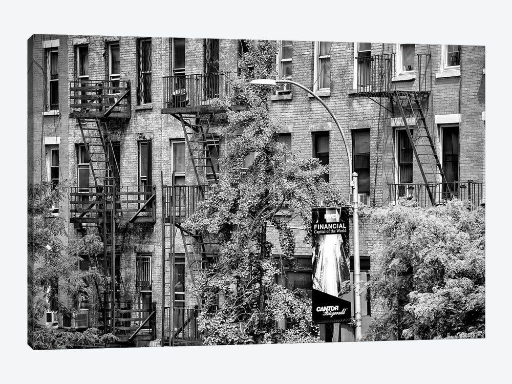 Building Facade New York by Philippe Hugonnard 1-piece Canvas Artwork