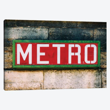 Paris Metro I Canvas Print #PHD126} by Philippe Hugonnard Canvas Artwork