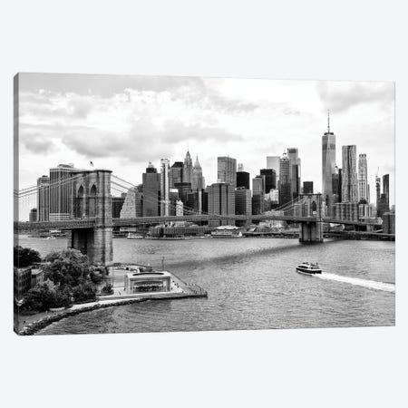 The NYC Skyline Canvas Print #PHD1271} by Philippe Hugonnard Canvas Artwork