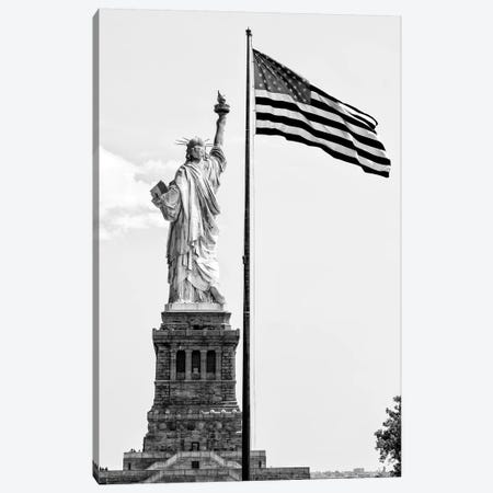 Liberty American Flag Canvas Print #PHD1277} by Philippe Hugonnard Canvas Art Print