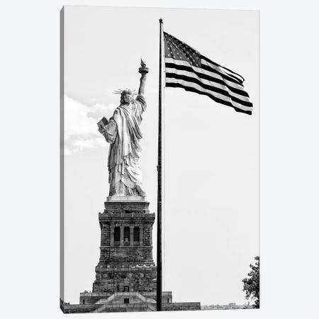 Liberty American Flag Canvas Print #PHD1277} by Philippe Hugonnard Canvas Art Print