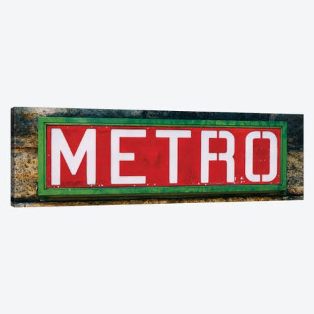 Paris Metro II Canvas Print #PHD127} by Philippe Hugonnard Canvas Artwork