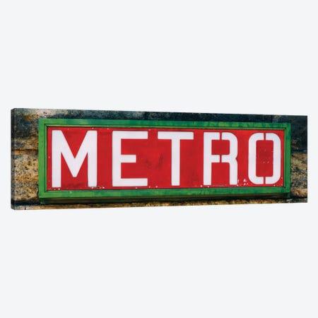Paris Metro II Canvas Print #PHD127} by Philippe Hugonnard Canvas Artwork
