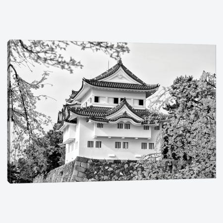 Nagoya White Castle 3-Piece Canvas #PHD1291} by Philippe Hugonnard Canvas Artwork