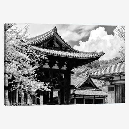 Nara Temple 3-Piece Canvas #PHD1293} by Philippe Hugonnard Canvas Art