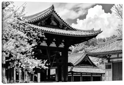 Nara Temple Canvas Art Print