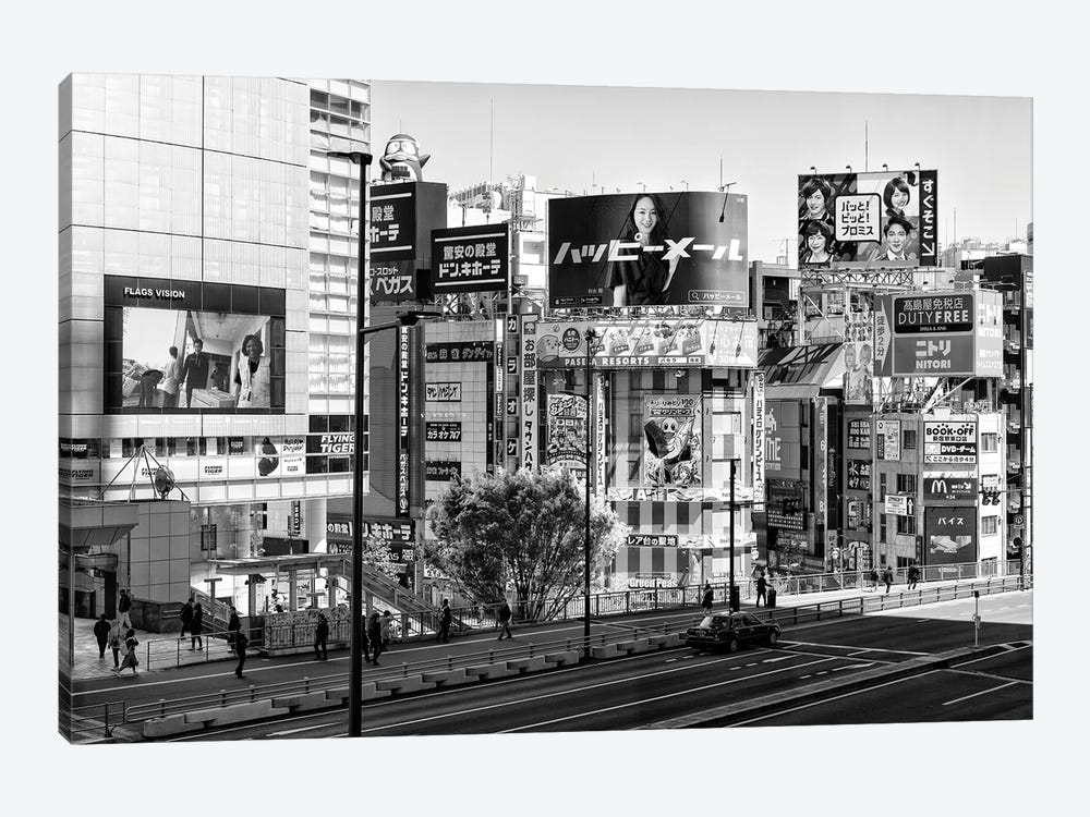 Tokyo by Philippe Hugonnard 1-piece Canvas Art Print