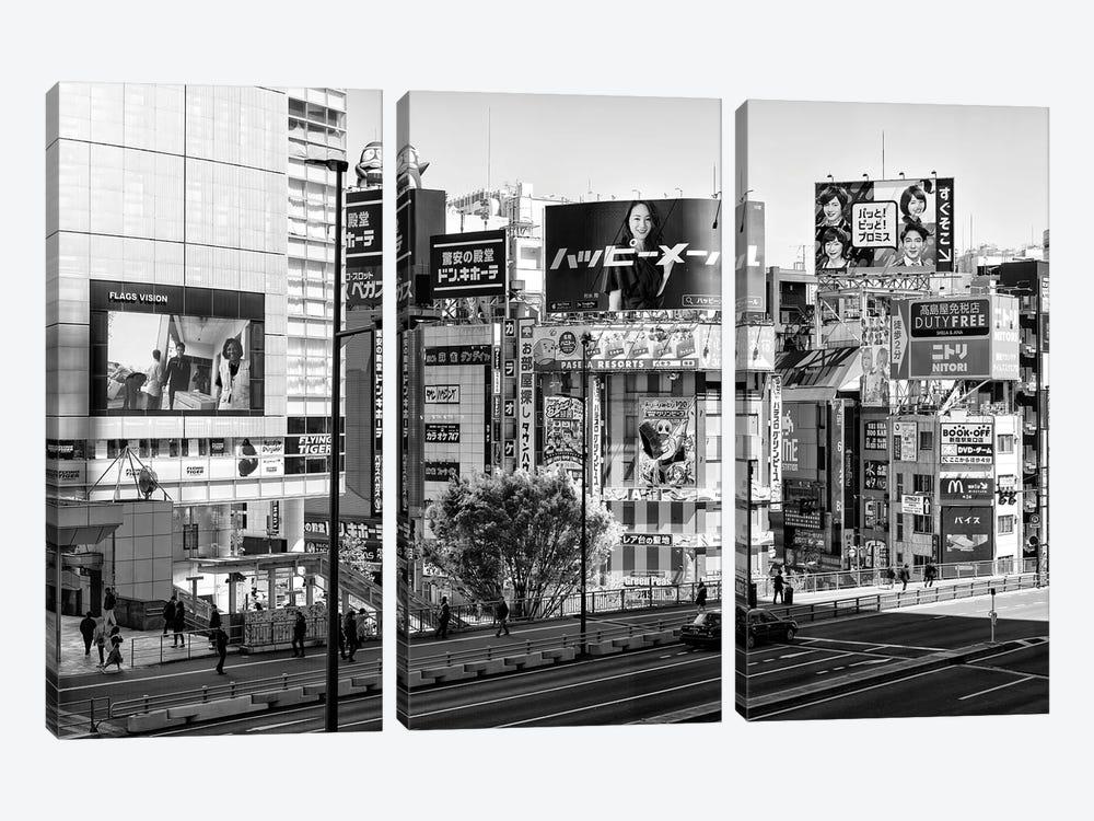Tokyo by Philippe Hugonnard 3-piece Canvas Art Print