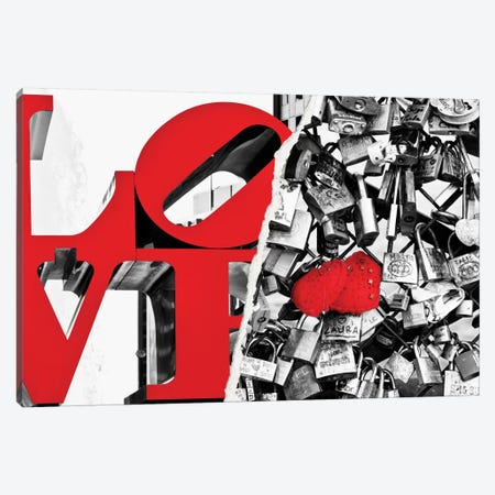 Eternal Love Canvas Print #PHD12} by Philippe Hugonnard Art Print