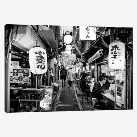 Omoide Yokocho Canvas Print #PHD1308} by Philippe Hugonnard Canvas Artwork