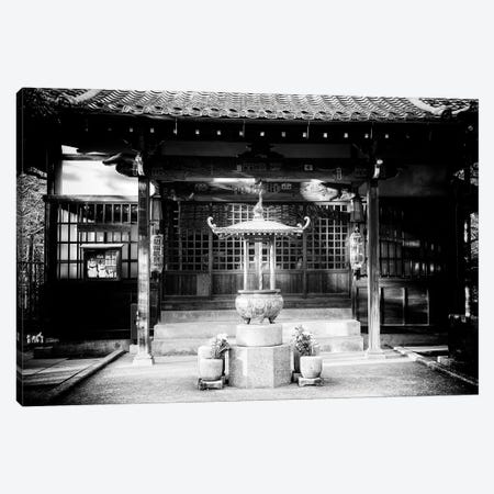 Gotokuji Temple 3-Piece Canvas #PHD1326} by Philippe Hugonnard Art Print