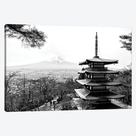 Chureito Pagoda Canvas Print #PHD1327} by Philippe Hugonnard Canvas Print