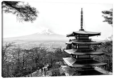 Chureito Pagoda Canvas Art Print