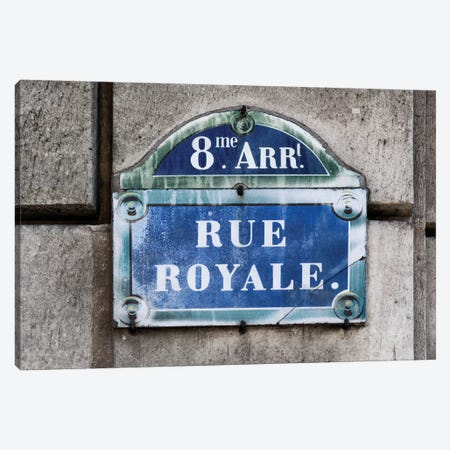 Rue Royale Canvas Print #PHD132} by Philippe Hugonnard Canvas Art