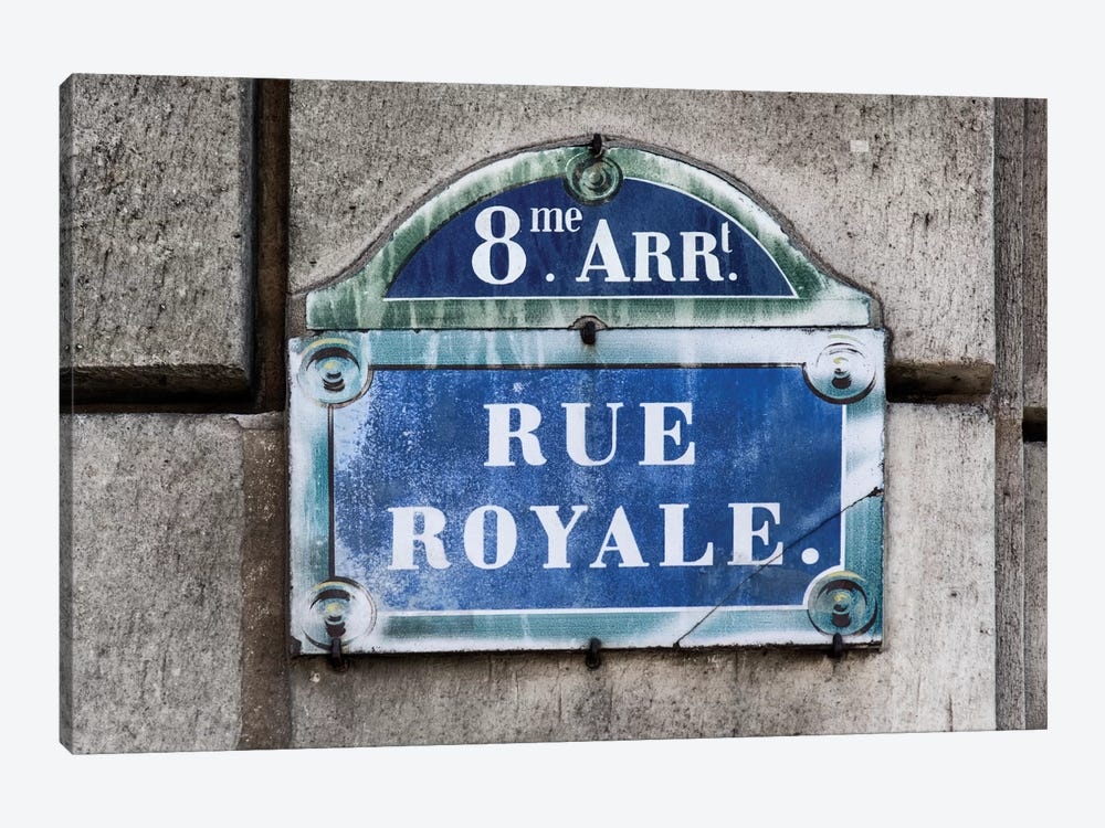 Rue Royale by Philippe Hugonnard 1-piece Canvas Wall Art