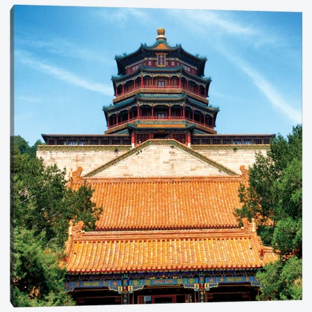 Summer Palace I Canvas Print #PHD133} by Philippe Hugonnard Canvas Artwork