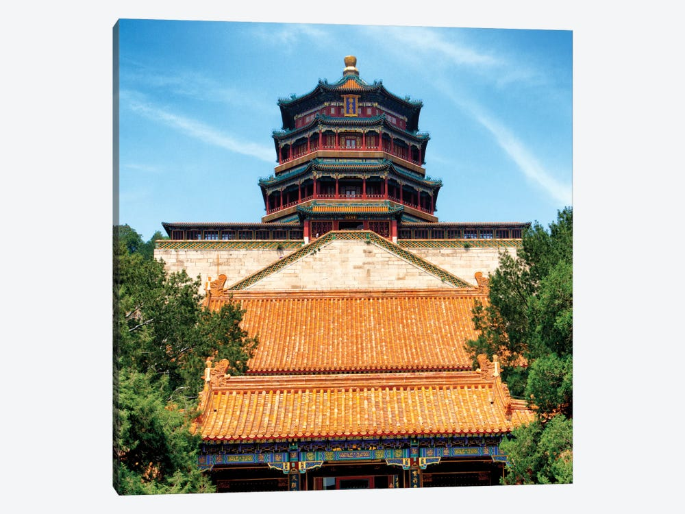 Summer Palace I 1-piece Canvas Art Print