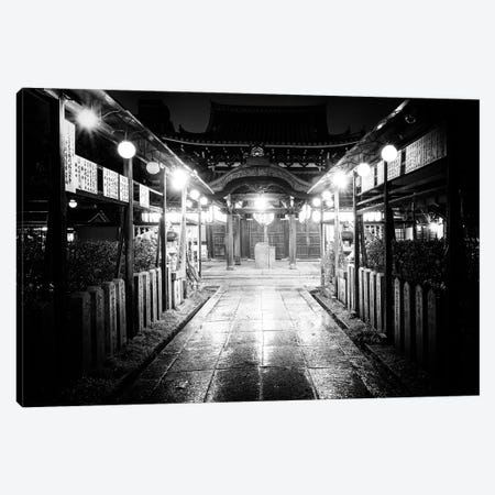 Night Temple Canvas Print #PHD1343} by Philippe Hugonnard Canvas Artwork