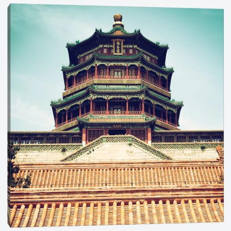 Summer Palace II Canvas Print #PHD134} by Philippe Hugonnard Art Print