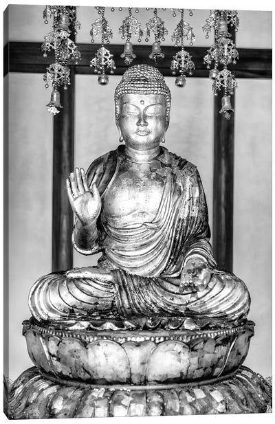 Golden Buddha Canvas Art Print