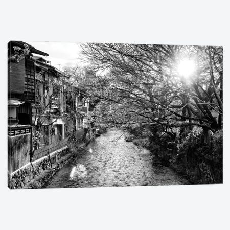 Kyoto River Canvas Print #PHD1363} by Philippe Hugonnard Canvas Artwork