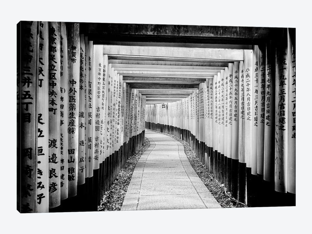 Fushimi Inari Shrine by Philippe Hugonnard 1-piece Canvas Print
