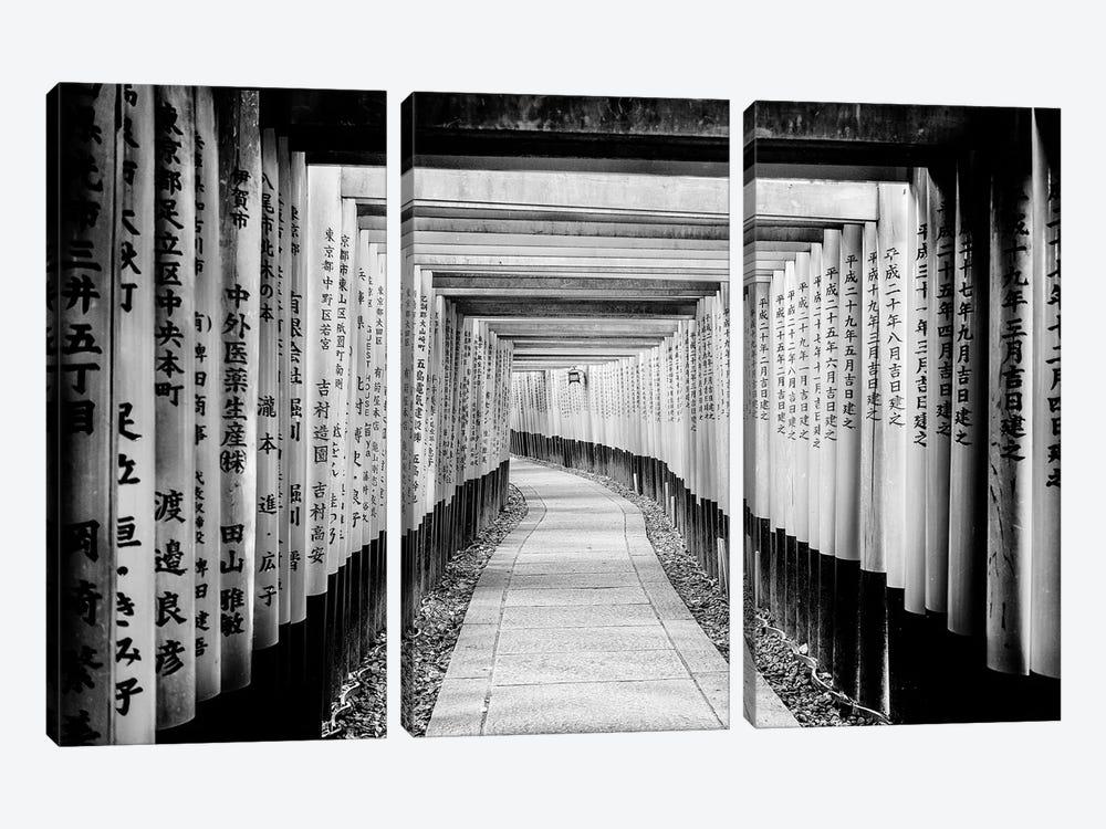 Fushimi Inari Shrine by Philippe Hugonnard 3-piece Canvas Art Print