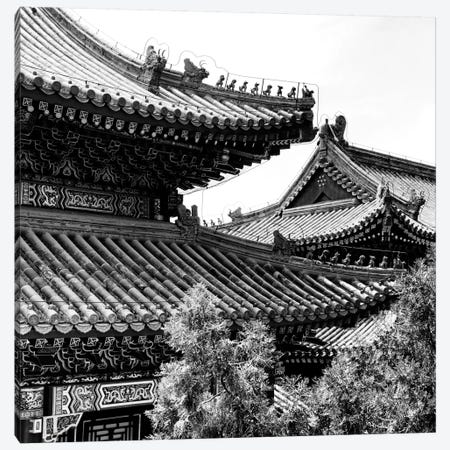 Temple Roofs Canvas Print #PHD138} by Philippe Hugonnard Canvas Art