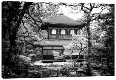 Ginkakuji Temple Kyoto Canvas Art Print