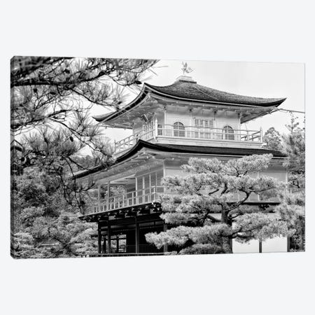 Kinkaku-Ji Temple 3-Piece Canvas #PHD1396} by Philippe Hugonnard Canvas Art