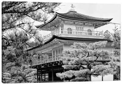 Kinkaku-Ji Temple Canvas Art Print