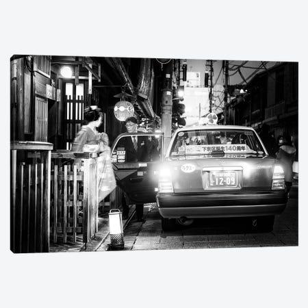 Kyoto Taxi Canvas Print #PHD1411} by Philippe Hugonnard Canvas Artwork