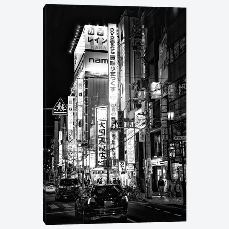 Night Street Scene IV Canvas Print #PHD1424} by Philippe Hugonnard Canvas Wall Art