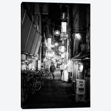 Night Street Scene V Canvas Print #PHD1425} by Philippe Hugonnard Canvas Artwork