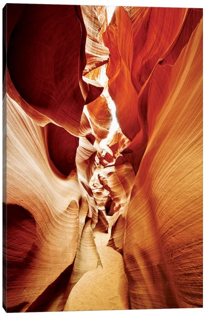 Antelope Canyon I Canvas Art Print
