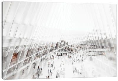 Urban Abstraction - Oculus Canvas Art Print
