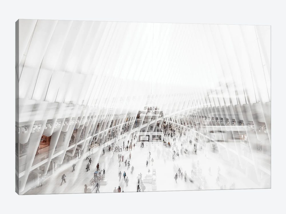 Urban Abstraction - Oculus by Philippe Hugonnard 1-piece Canvas Art Print